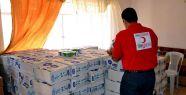 Türk Kızılayı'ndan Kerkük'e yardım