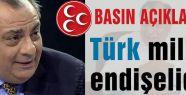 """Türkeş: """"Türk milleti endişelidir"""""""