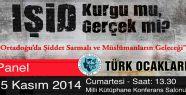 Türk Ocaklarından çok önemli bir panel