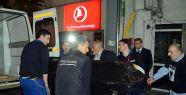 Türk öğrenci yurda getirildi...