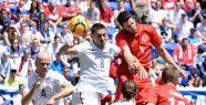 Türkiye özel maçta ABD'ye yenildi
