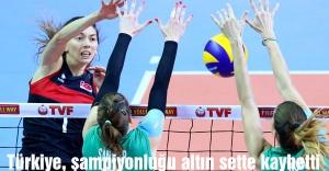 Türkiye, şampiyonluğu altın sette kaybetti
