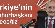 Türkiye'nin cumhurbaşkanı seçeceğiz