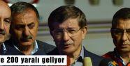 Türkiye'ye 200 yaralı geliyor