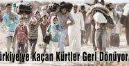 Türkiye'ye Kaçan Kürtler Geri Dönüyor...