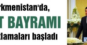 Türkmenistan'da, At Bayramı kutlamaları başladı