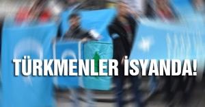 Türkmenler Kerkük-Bağdat yolunu trafiğe kapattı