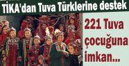 Tuva Türklerine destek