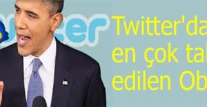 Twitter'da en çok takip edilen Obama