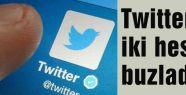 Twitter iki hesabı buzladı