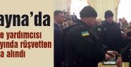Ukrayna'da Bakan ve yardımcısı canlı yayında gözaltına alındı