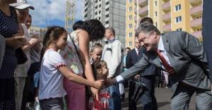 Ukrayna'da terörle mücadelede ölenlerin yakınlarına birer daire