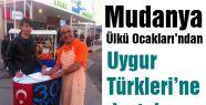 Ülkü Ocakları'ndan Uygur Türkleri'ne destek