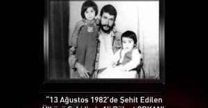 Ülkücü Şehit Ali Bülent Orkan'ın şehadetinin 33. yılı