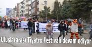 Uluslararası Tiyatro Festivali devam ediyor