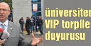 Üniversitedeki VIP torpile suç duyurusu...