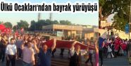 Üsküdar Bayrak Yürüyüşüyle Şahlandı