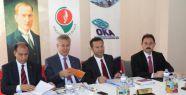 Vali Aksoy OKA'nın Toplantısına katıldı