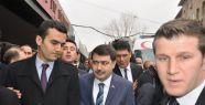 Vali Şahin, Yaşar Kemal'i ziyaret etti