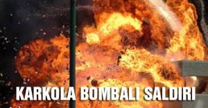Van'da Karakola bombalı saldırı