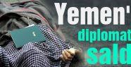 Yemen'de diplomatlara saldırı