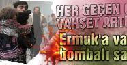 Yermuk'a varil bombalı saldırı