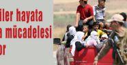 Yezidiler hayata kalma mücadelesi veriyor