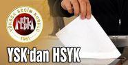 YSK'dan HSYK seçimine ilişkin karar