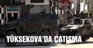 Yüksekova'da PKK'nın kuşattığı mahallede çatışma çıktı