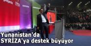 Yunanistan'da SYRİZA'ya destek büyüyor