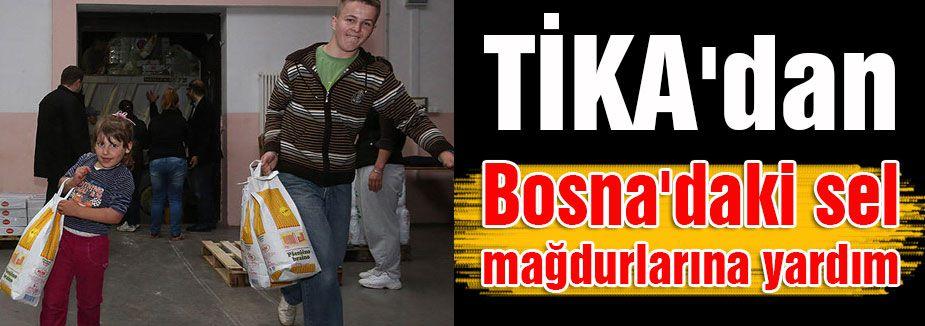 TİKA'dan Bosna'ya Yardım