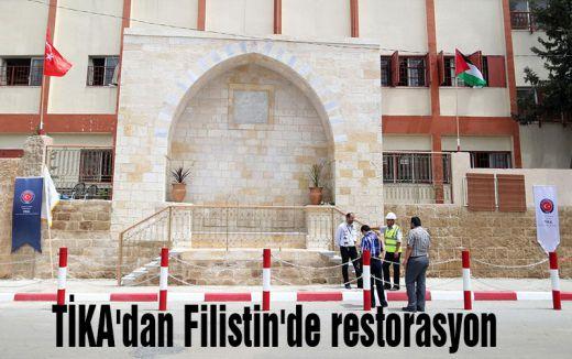 TİKA'dan Filistin'de restorasyon