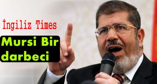 Time: Mursi Bir Darbeci...