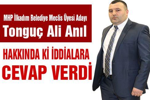 Tonguç Ali'den Basın Açıklaması