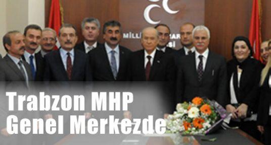 Trabzon MHP'den Bahçeli'ye Ziyaret