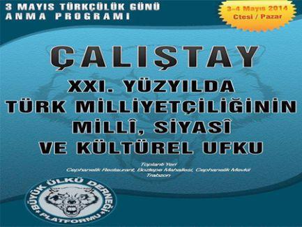 Trabzon'da Türk Milliyetçiliği Çalıştayı