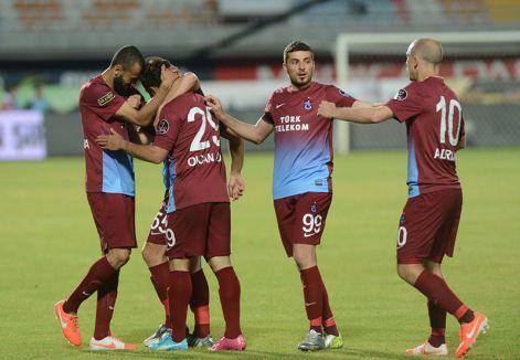 Trabzonspor sezonu galibiyetle kapattı