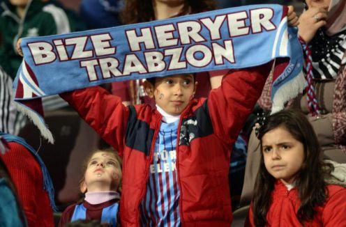 Trabzonspor'dan taraftara jest