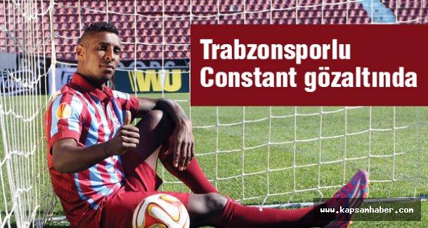 Trabzonsporlu Futbolcu Kevin Constant Gözaltına Alındı