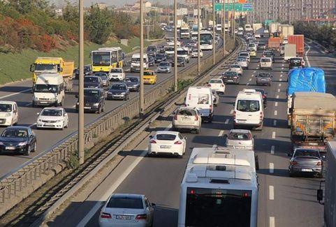 Trafikte artış,,,