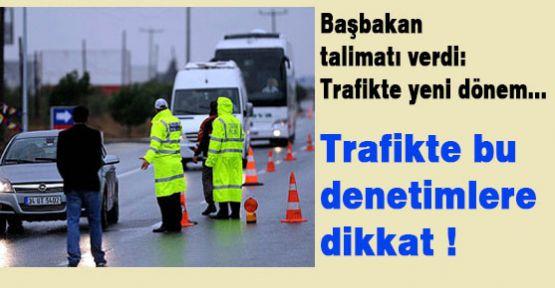 Trafikte Bunlara Dikkat