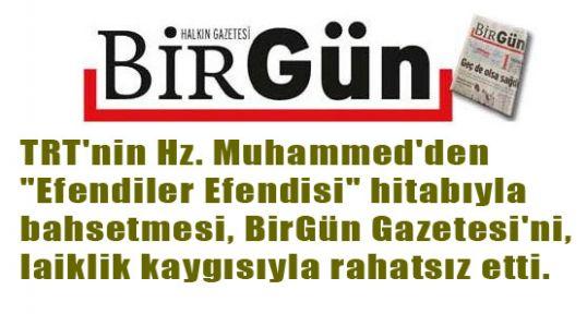 TRT'YE PEYGAMBER ELEŞTİRİSİ