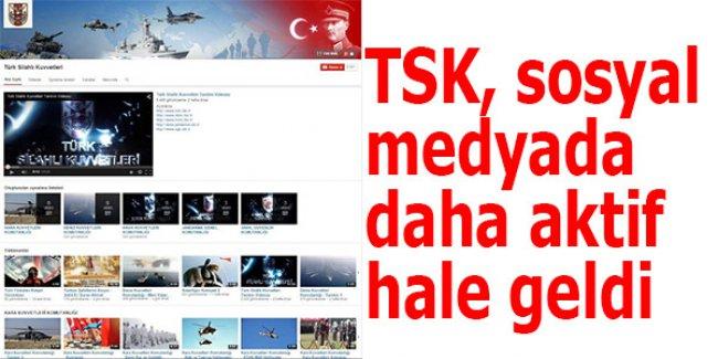 TSK, sosyal medyada daha aktif hale geldi