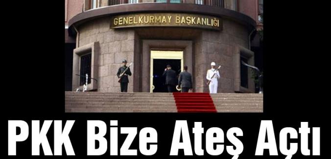 TSK'dan Açıklama: Teröristler Askere Ateş Açtı