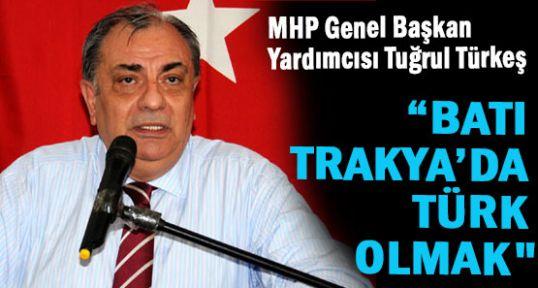 Tuğrul Türkeş; Dr. Sadık Ahmet Öncü Olmuştur...