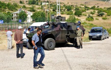 Tunceli'de Köy Baskını