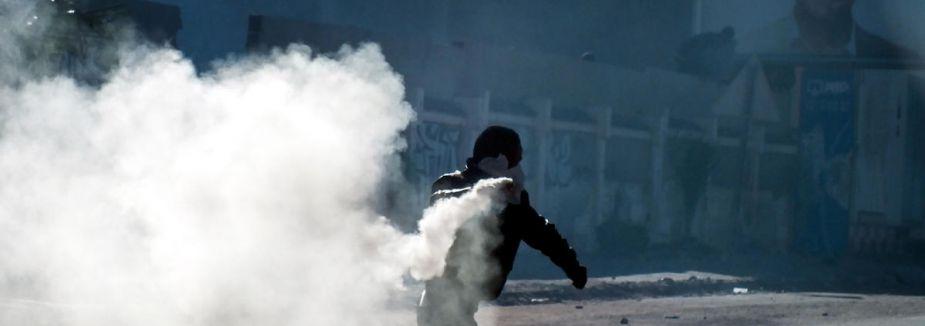 Tunus'ta vergi protestosu