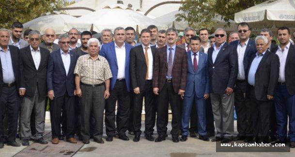 Turgutlu'da MHP Teşkilatı Oda Başkanları ve Muhtarlarla Buluştu