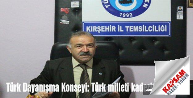 Türk Dayanışma Konseyi: Türk milleti kaderini oyluyor