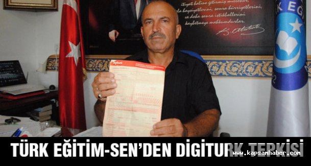 Türk Eğitim Sen, 7 kanalı sansürleyen Digiturk aboneliğini iptal etti